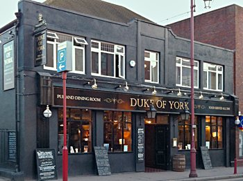The Duke Of York, live music venue in Surrey.