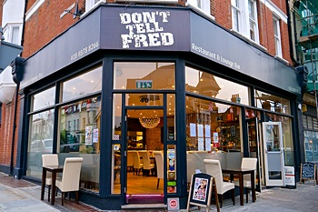 Don't Tell Fred live music bar and restaurant, East Sheen