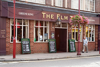 The Elm Tree, live music venue in Surrey.