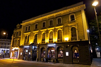 The Fox, live music pub venue in Putney, London SW15.