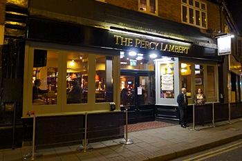 The Percy Lambert, live music venue in Weybridge, Surrey.