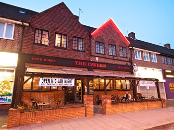 The Cavern, live music pub, Raynes Park