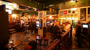 The Cavern, live music venue in Raynes Park, London.