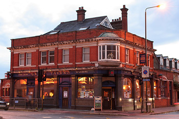 The Grove, live music venue in Wimbledon, South London.