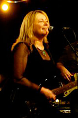 Val Cowell, singer, guitarist & songwriter